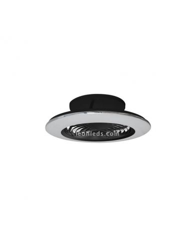 Ventilador de techo LED Alisio Mini negro 7495 Mantra | LeonLeds