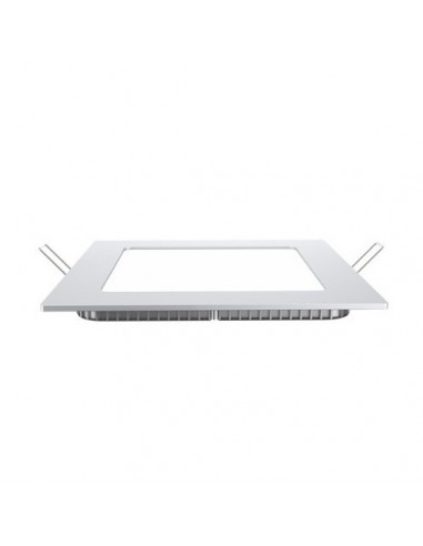 Panel Downlight Empotrable Cuadrado Slim 12W de Vtac | LeonLeds