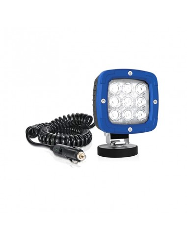 Faro de trabajo portatil LED magnético con cable en espiral conexión para mechero 3 metros 8 metros EMC IP68 Cree Comprar Faro B