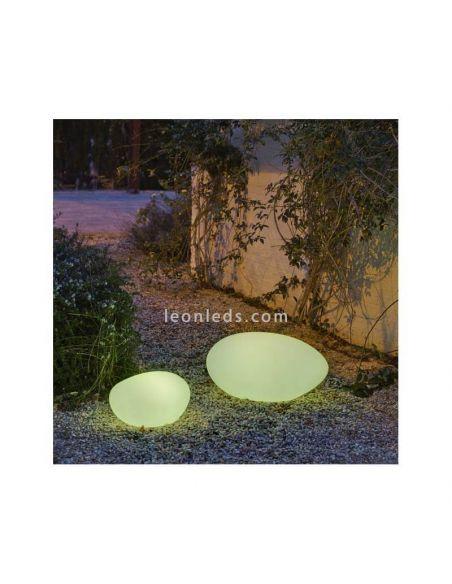 Lámpara decorativa exterior disponible en 2 tamaños con cable Petra 40Cm New Garden | LeónLeds Iluminación