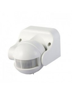 Sensor de movimiento 4967 Vtac V-tac Blanco   LeonLeds
