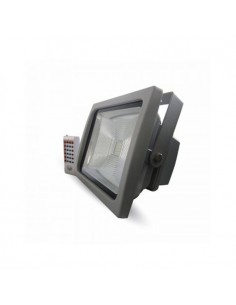 Proyector LED 30W Premium RGB Control Remoto RF 1800Lm