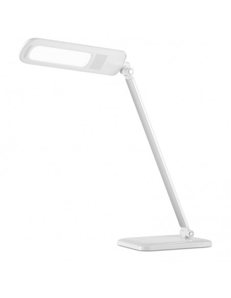 Flexo LED 3 en 1 Dimmable Intensidad Regulable Blanco Gris 7W Tactil mesa de oficina estudio lectura 7039 | LeonLeds