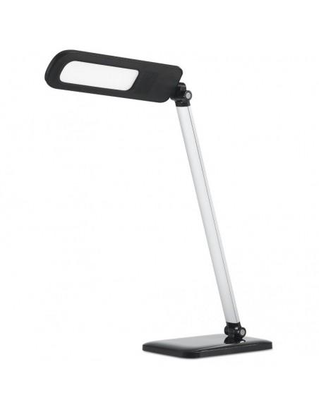 Flexo LED para estudio oficina mesa de lectura 7040 Negro y Gris regulable dimmable 3 tonos de luz diferentes | LeonLeds