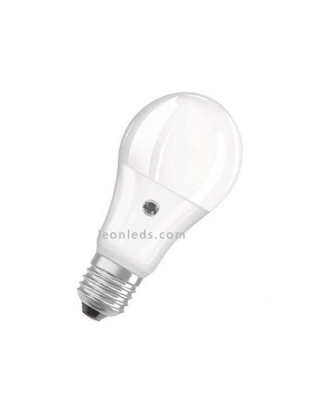 Bombilla LED con sensor crepuscular 2.700K 9W Reemplazo 60W | LeonLeds.com