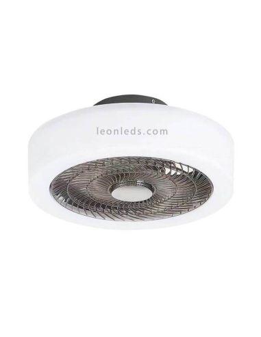Plafón ventilador con luz LED y con mando marca ACB Iluminación | LeonLeds Iluminación