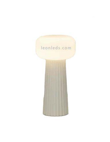 Lámpara de sobremesa interior blanco Faro Mantra Iluminación | LeónLeds Iluminación