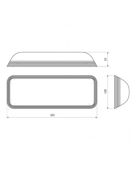 Luminaria de emergencia LED Normalux Dunna DL60 No Permanente Superficie Barata comprar | LeonLeds