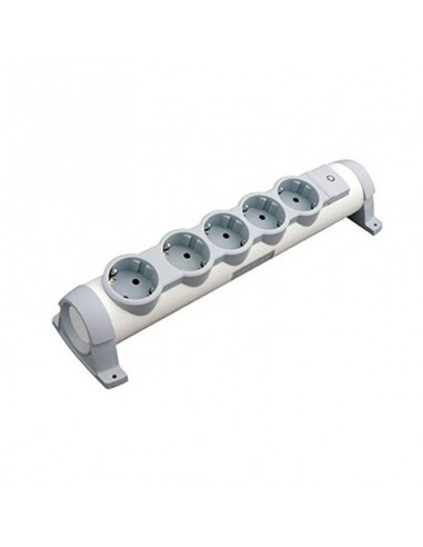 Base Multiple Legrand con 5 Tomas interruptor posibilidad de fijar en pared o mesa con tornillos | LeonLeds