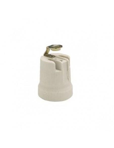 Portalámparas E14 Porcelana Solera