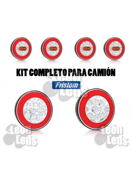 Faro Trasero LED 6 Funciones 12/24V