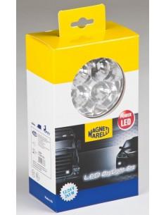 Kit Luz Diurna DRL LED Magenti Marelli LAQ010 para camión, Automovil, Coche, Furgoneta Grua 12V 24V | LeonLeds