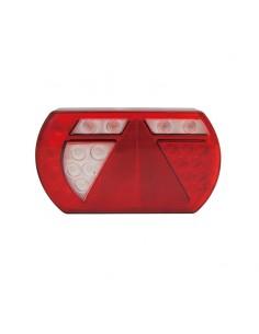Piloto Trasero LED con Triángulo extraplano de lucidity para remolque o carro | LeonLeds Iluminación