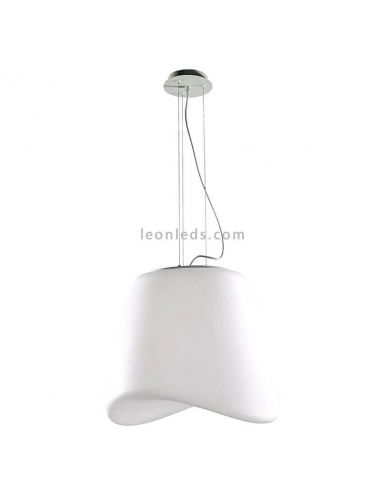 Lámpara de Techo Suspendida colgante serie Cool marca mantra forma redonda acrilica   LeonLeds Iluminación