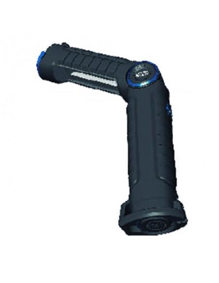 Lámpara de Inpección LED Magneti Marelli Magnetica 3W Ultravioleta Recargable con garras Indicador LCD de carga | LeonLeds