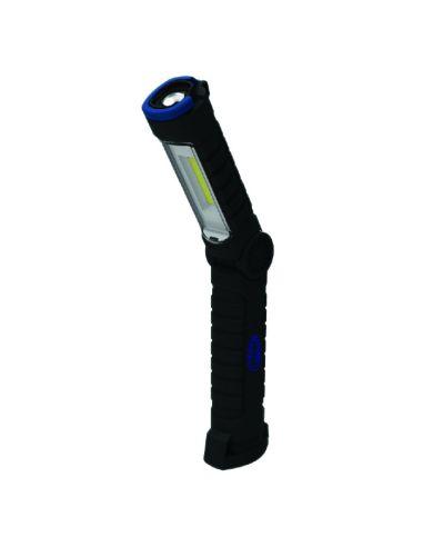 Linterna Led Recargable Mini 0.9W + UV ultravioleta Magnetica Pequeña | LeonLeds