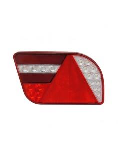 Piloto Trasero LED con Triángulo 12/24V posición efecto Neon para remolque 26039 | LeonLeds Iluminación
