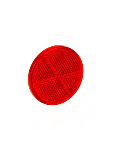 Catadióptricos Redondos Homologadaos Blanco Ambar Rojo Adhesivo | LeonLeds