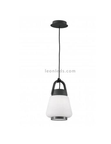 Lámpara de techo Exterior Blanca y Gris Antracita Candelabro Kinké Mantra Iluminación | LeonLeds