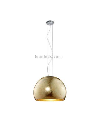 Lámpara de Techo color Oro estilo moderno regulable serie Ontario marca Trio Ligthing | LeonLeds Iluminación
