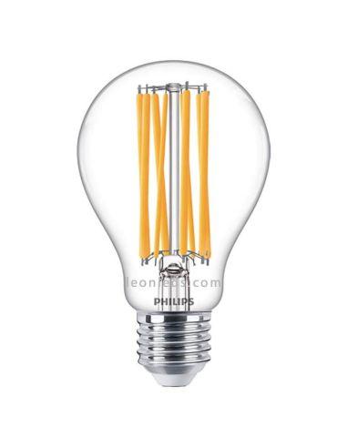 Bombilla E27 LED Filamento 17W - 150W A67 4000K LED classic Philips 76439500 | LeonLeds.com