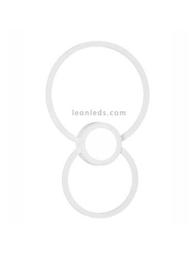 Aplique de Pared LED Mural redondo color blanco Mantra | LeonLeds Iluminación
