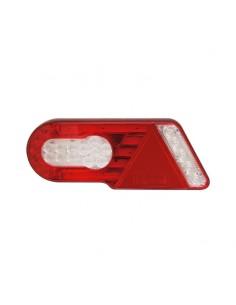 Piloto Trasero LED con Triángulo válido para 12V y 24V, para camión o remolque bañera plataforma | LeonLeds Iluminación