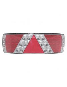 Piloto trasero LED para plataforma camión con conector TYCO valido para 12V y 24V extraplano barato | LeonLeds Iluminación