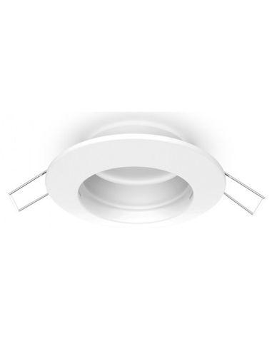 Aro Empotrable Serie Inteca Fijo Blanco o niquel 07038RF01 07038RF03 | LeonLeds