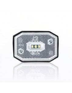 Piloto Reflectante LED Lateral o Galibo con varios soportes o sin soporte Fristom FT001 FT-001 LED Rectangular | LeonLeds