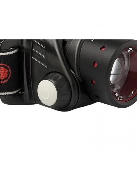 Linterna Frontal de Cabeza Led Lenser H14R.2 Recargable | LeonLeds