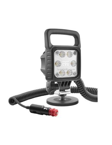 Faro LED Magnético con conector de mechero asa e interruptor ¡Al mejor precio!