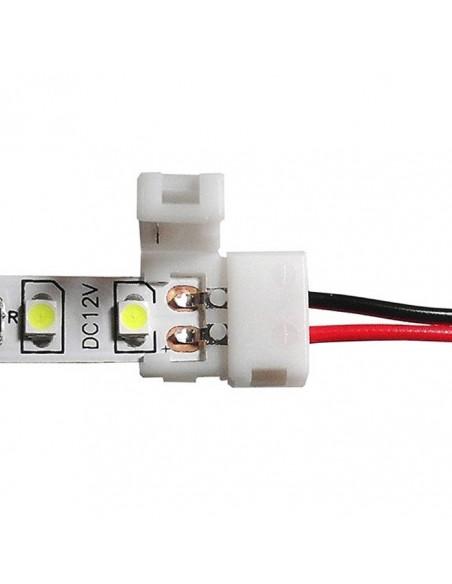 Conector Flexible para tira Led -3528-