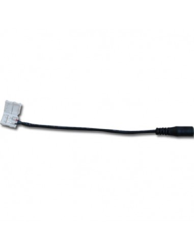 Conector Flexible para tira Led -3528- DC Hembra