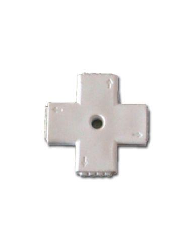 Conector para tira Led -5050- Cruz