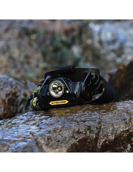 Nitecore HA20 Frontal LED Recargable Potente Linterna de Cabeza para dos pilas AA IP67 resistente al agua | LeonLeds Iluminación
