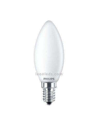 Philips CorePro LEDvela Clasíca Mate 2.2-25W Regulable E14 B35 Decorativa