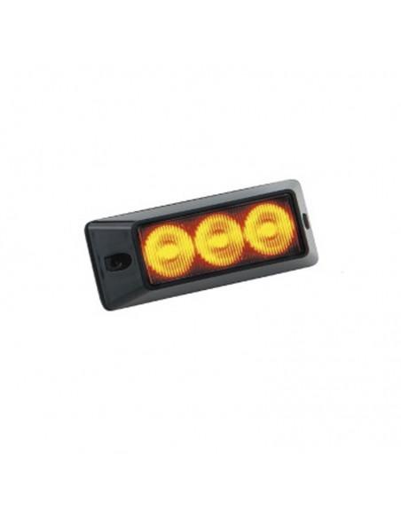 Piloto LED Estroboscópico para Vehículos de destellos ambar rojo azul | LeonLeds