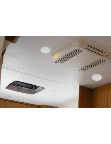 Lampara LED Interior Redonda para Vehículos Superficie camión caravana | LeonLeds