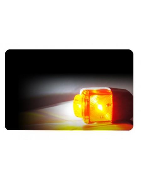 Cuerno Corto LED Con Cable 26558-1 - 3 Funciones-