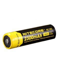 Batería Litio 18650 3000Mah Protegida | Bateria Recargable Nitecore NL | LeonLeds Iluminación
