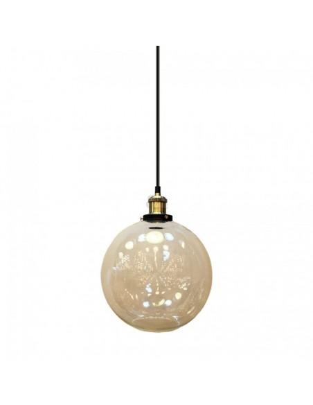 Lámpara Colgante Cristal