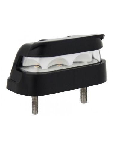 Piloto Matrícula LED con conector homologada de Lucidity | LeonLeds Matriculas LED