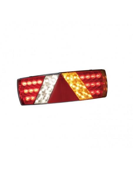 Piloto trasero LED para plataforma camión con conector TYCO valido para 12V y 24V extraplano barato   LeonLeds Iluminación