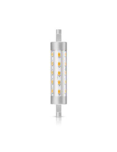 Bombilla Lineal LED Philips R7S  CorePro de 6,5W en tono de luz Blanco Cálido para la sustitución de 60W Halógena | LeonLeds