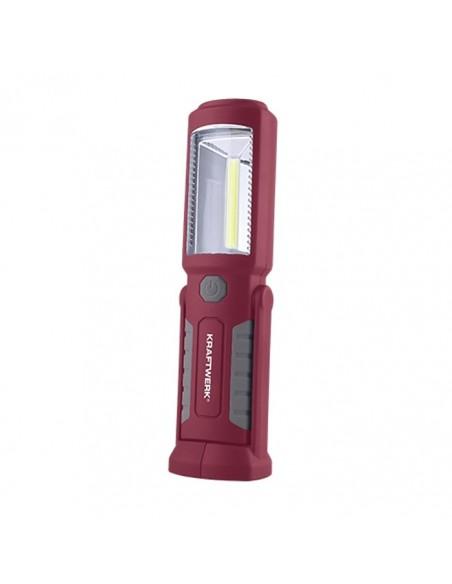 Linterna Led recargable magnética para taller Barata | LeonLeds Iluminación