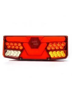 Piloto trasero LED Was para Camión con Hexágono de 6 y 7 funciones Homologado barato de Was | LeonLeds Iluminación