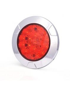 Piloto Antiniebla LED Redondo 12/24V