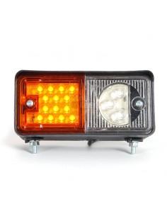 Piloto delantero Posición Intermiente LED Homologado Was para Tractor 12 y 24v | LeonLeds Iluminación