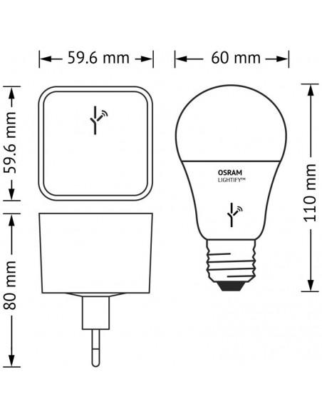 Bombilla Led E27 -10W- Lightify Osram-LedVance LeonLeds